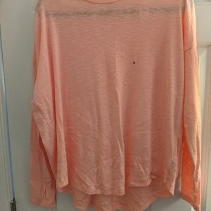 NWT aerie pink long sleeved shirt